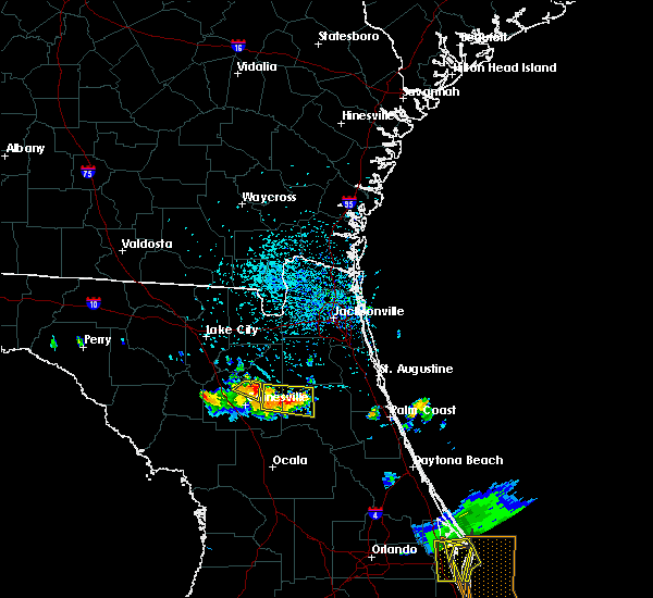 Radar Image for Severe Thunderstorms near Gainesville, FL at 6/4/2018 4:02 PM EDT