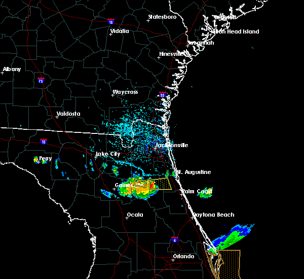 Radar Image for Severe Thunderstorms near Flagler Estates, FL at 6/4/2018 4:29 PM EDT