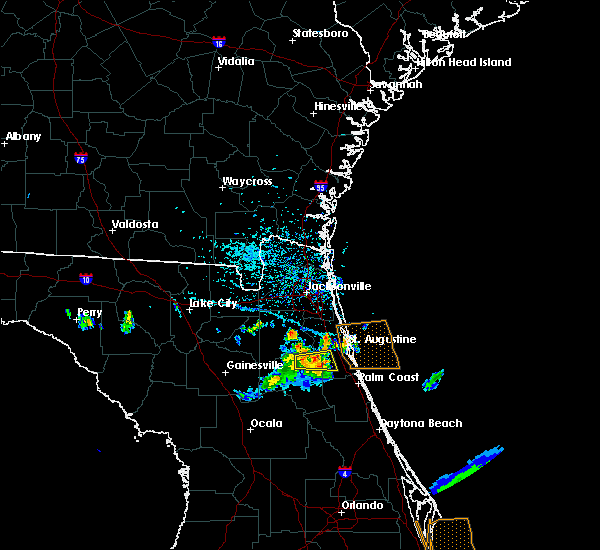 Radar Image for Severe Thunderstorms near Hastings, FL at 6/4/2018 4:56 PM EDT