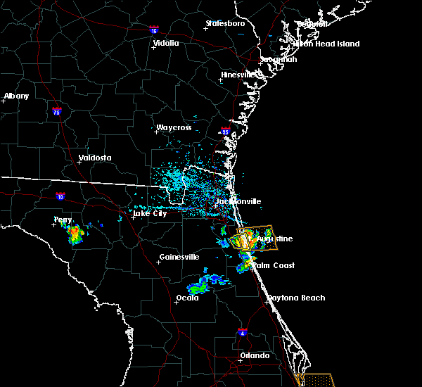Radar Image for Severe Thunderstorms near World Golf Village, FL at 6/4/2018 5:30 PM EDT