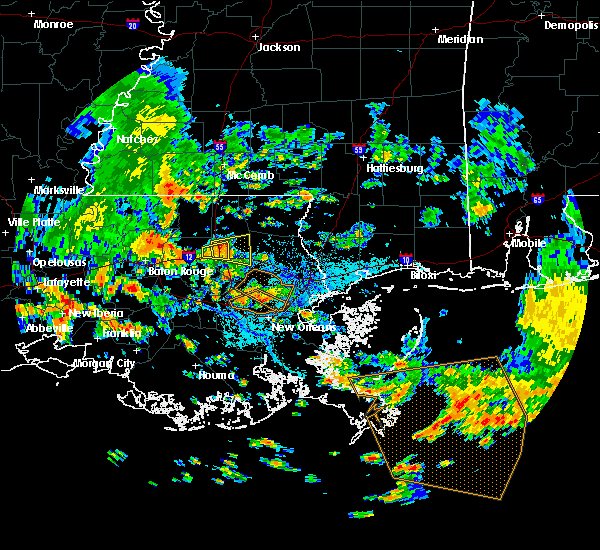 Radar Image for Severe Thunderstorms near Independence, LA at 6/5/2018 1:29 PM CDT