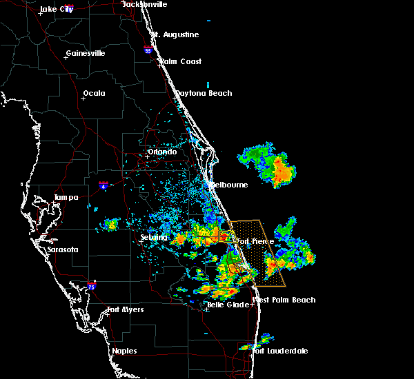 Interactive Hail Maps - Hail Map for Vero Beach, FL