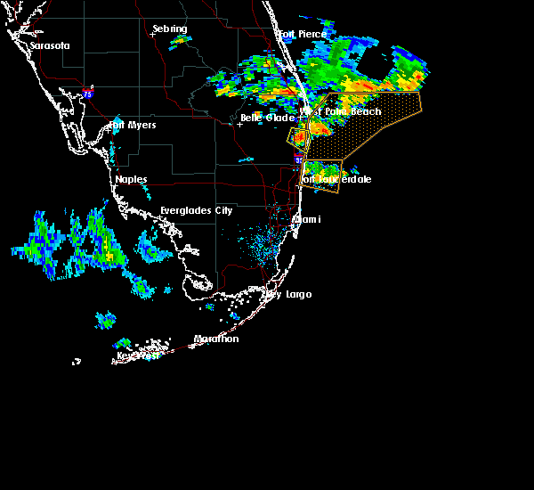 Map Of Florida Showing Delray Beach.Interactive Hail Maps Hail Map For Delray Beach Fl