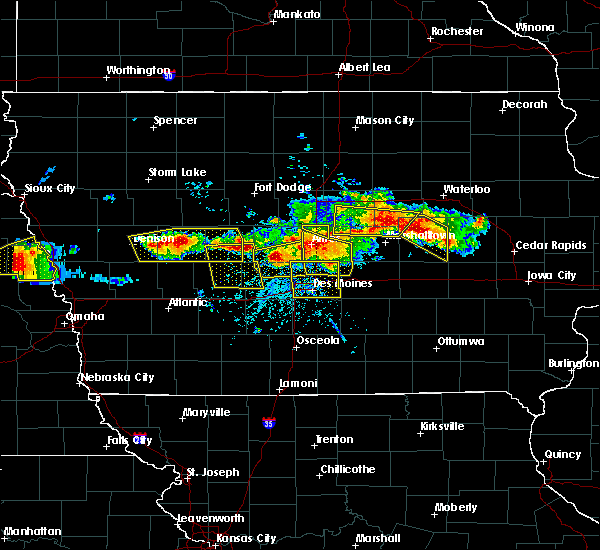 Radar Image for Severe Thunderstorms near Runnells, IA at 6/6/2018 5:43 PM CDT