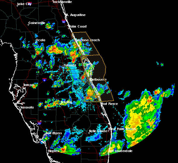 Radar Image for Severe Thunderstorms near Christmas, FL at 6/7/2018 5:47 PM EDT