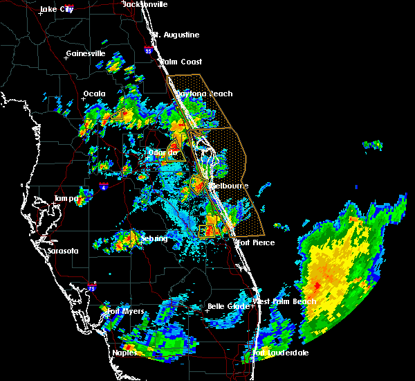 Radar Image for Severe Thunderstorms near Christmas, FL at 6/7/2018 6:05 PM EDT