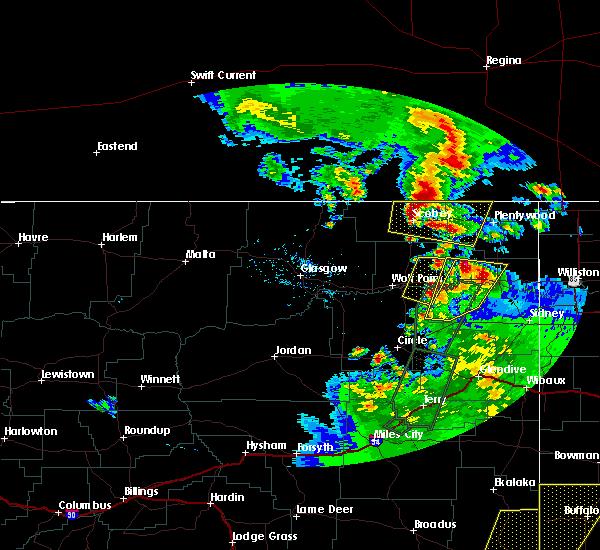Interactive Hail Maps - Hail Map for Poplar, MT