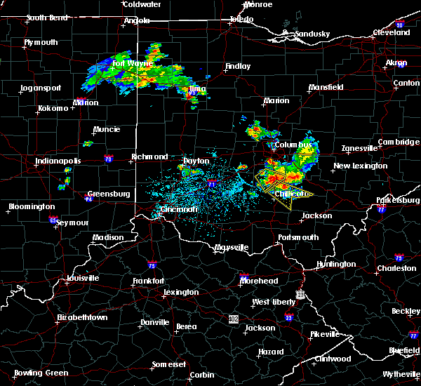 Radar Image for Severe Thunderstorms near Chillicothe, OH at 6/8/2018 2:11 PM EDT