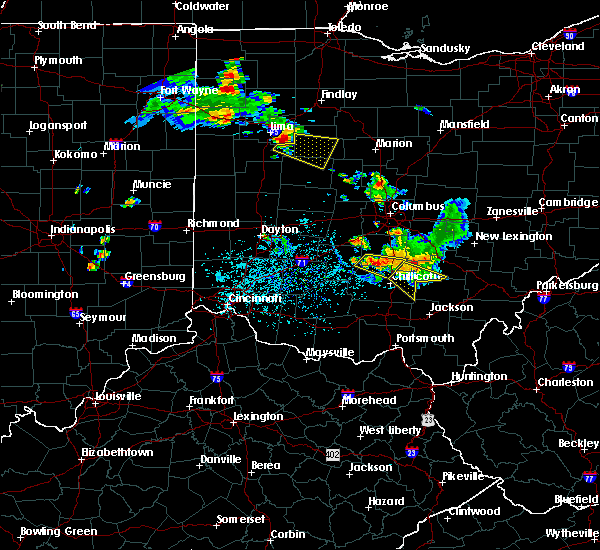 Radar Image for Severe Thunderstorms near Chillicothe, OH at 6/8/2018 2:29 PM EDT