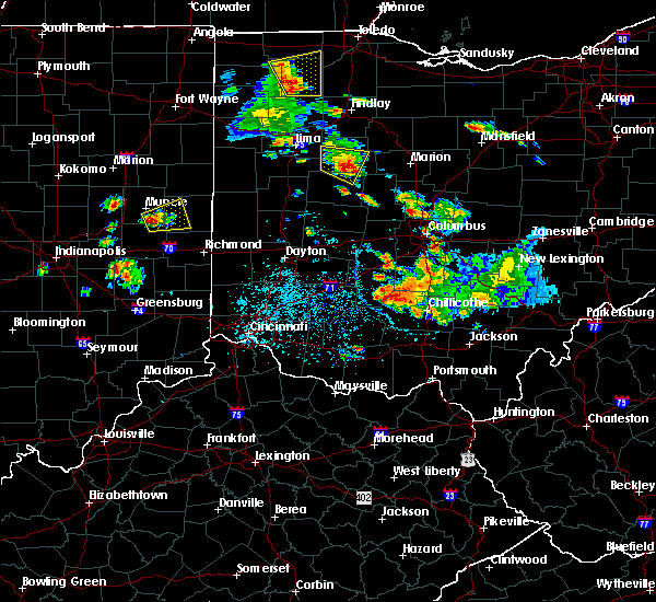 Radar Image for Severe Thunderstorms near Alger, OH at 6/8/2018 3:11 PM EDT