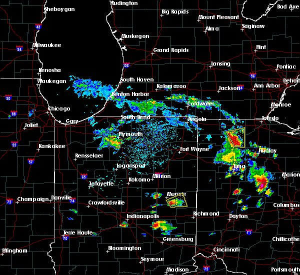 Radar Image for Severe Thunderstorms near Napoleon, OH at 6/8/2018 3:24 PM EDT