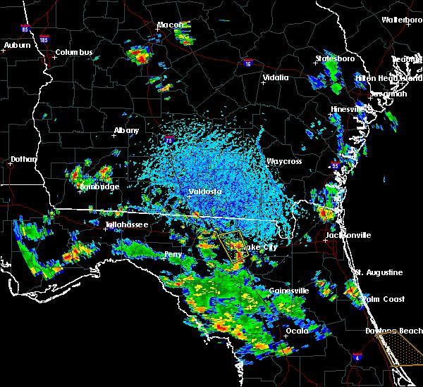 Radar Image for Severe Thunderstorms near Lake City, FL at 6/8/2018 3:44 PM EDT