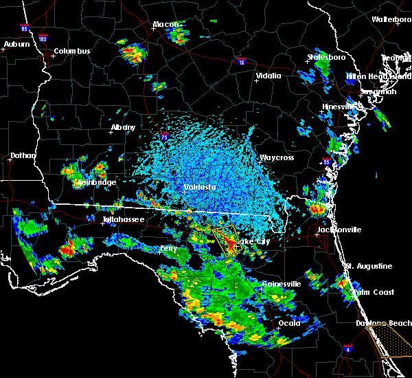 Radar Image for Severe Thunderstorms near Lake City, FL at 6/8/2018 3:50 PM EDT
