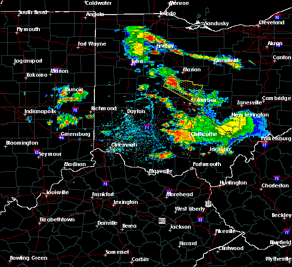 Radar Image for Severe Thunderstorms near Richwood, OH at 6/8/2018 3:51 PM EDT