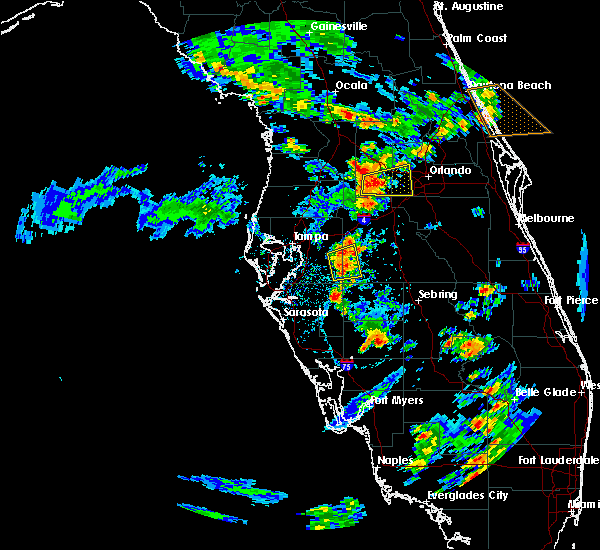 Radar Image for Severe Thunderstorms near Oakland, FL at 6/8/2018 3:59 PM EDT