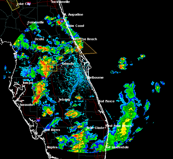 Radar Image for Severe Thunderstorms near Oakland, FL at 6/8/2018 4:12 PM EDT