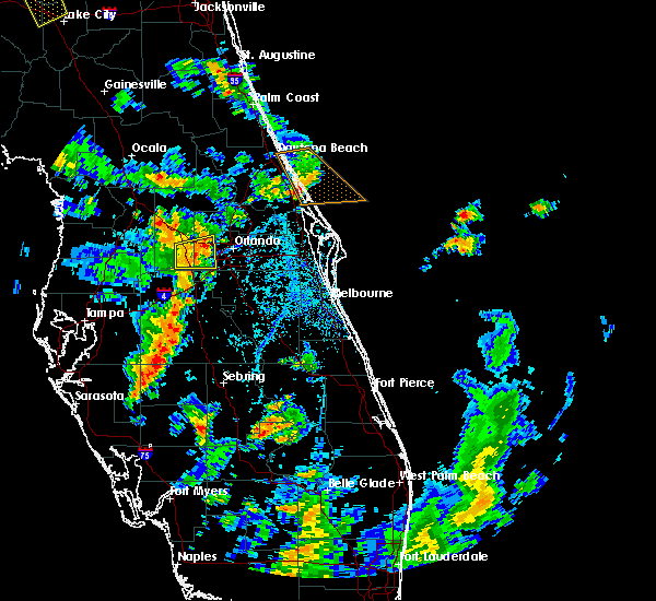 Radar Image for Severe Thunderstorms near Oakland, FL at 6/8/2018 4:27 PM EDT