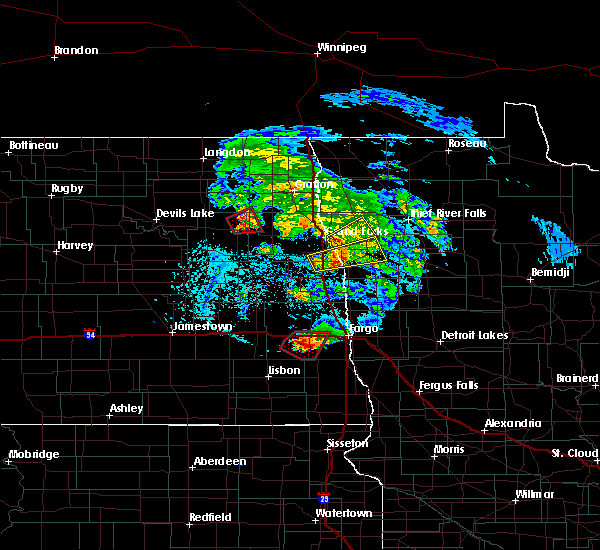 Radar Image for Severe Thunderstorms near Niagara, ND at 6/8/2018 4:51 PM CDT