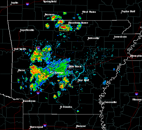 Radar Image for Severe Thunderstorms near Carthage, AR at 6/8/2018 5:05 PM CDT