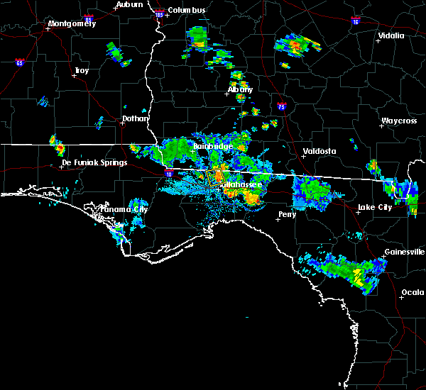 Radar Image for Severe Thunderstorms near Tallahassee, FL at 6/8/2018 6:46 PM EDT