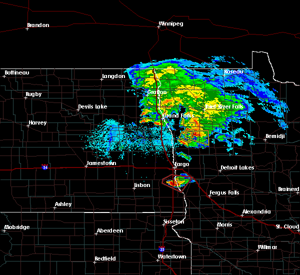Radar Image for Severe Thunderstorms near Kent, MN at 6/8/2018 6:17 PM CDT