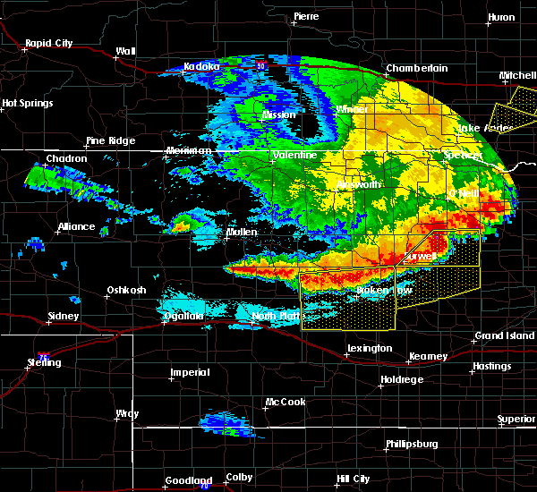 Radar Image for Severe Thunderstorms near Arnold, NE at 6/9/2018 12:43 AM CDT