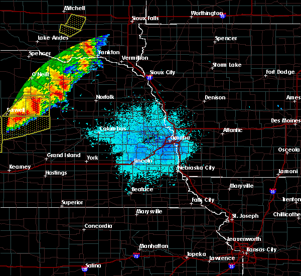 Radar Image for Severe Thunderstorms near St. Edward, NE at 6/9/2018 12:59 AM CDT