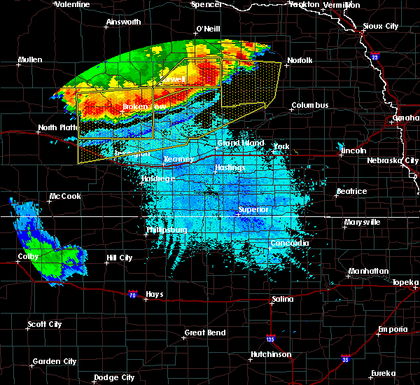 Radar Image for Severe Thunderstorms near Fullerton, NE at 6/9/2018 1:05 AM CDT
