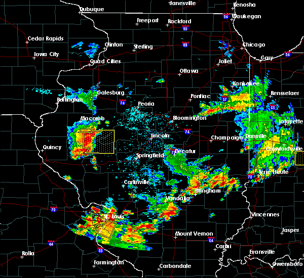 Radar Image for Severe Thunderstorms near Browning, IL at 6/9/2018 12:00 PM CDT