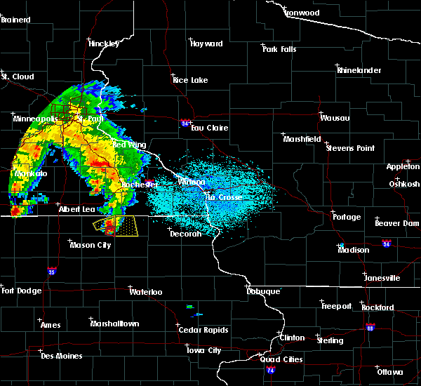 Radar Image for Severe Thunderstorms near New Haven, IA at 6/9/2018 1:28 PM CDT