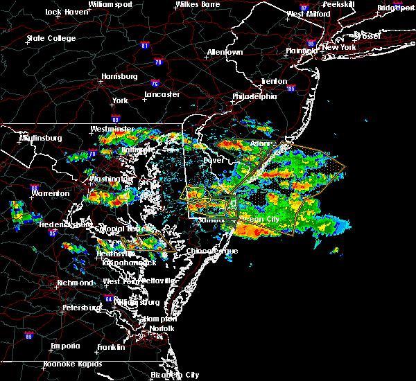 Radar Image for Severe Thunderstorms near Laurel, DE at 6/9/2018 2:52 PM EDT