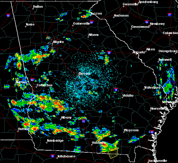 Radar Image for Severe Thunderstorms near Leslie, GA at 6/9/2018 3:02 PM EDT