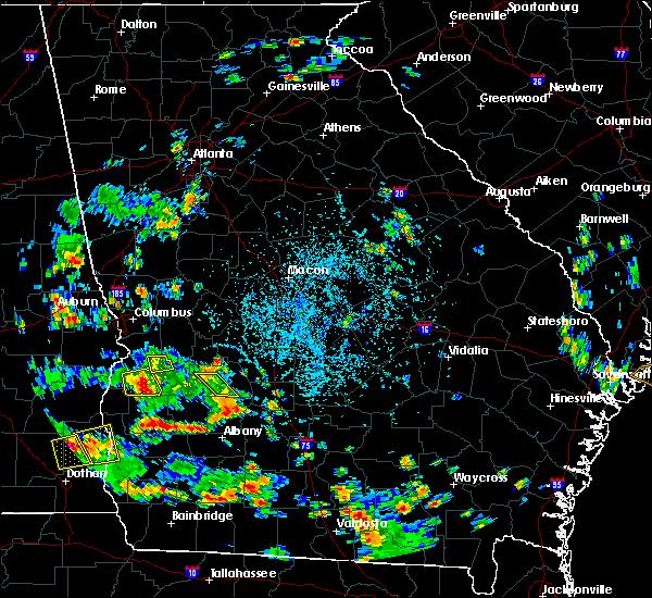 Radar Image for Severe Thunderstorms near Leslie, GA at 6/9/2018 3:44 PM EDT