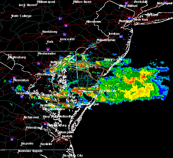 Radar Image for Severe Thunderstorms near Dover, DE at 6/9/2018 4:12 PM EDT