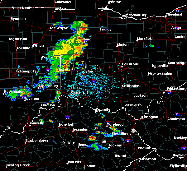 Radar Image for Severe Thunderstorms near Dayton, OH at 6/9/2018 4:17 PM EDT