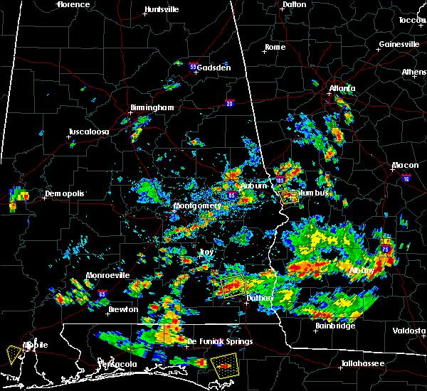 Radar Image for Severe Thunderstorms near Columbus, GA at 6/9/2018 4:24 PM EDT