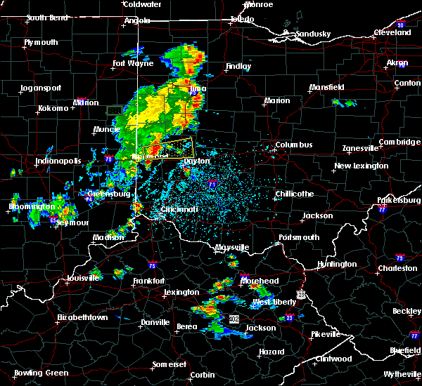 Radar Image for Severe Thunderstorms near Fletcher, OH at 6/9/2018 4:27 PM EDT