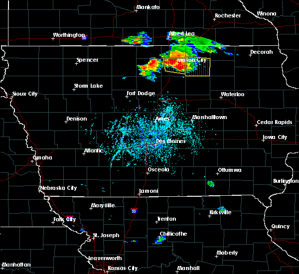 Radar Image for Severe Thunderstorms near Portland, IA at 6/9/2018 4:07 PM CDT