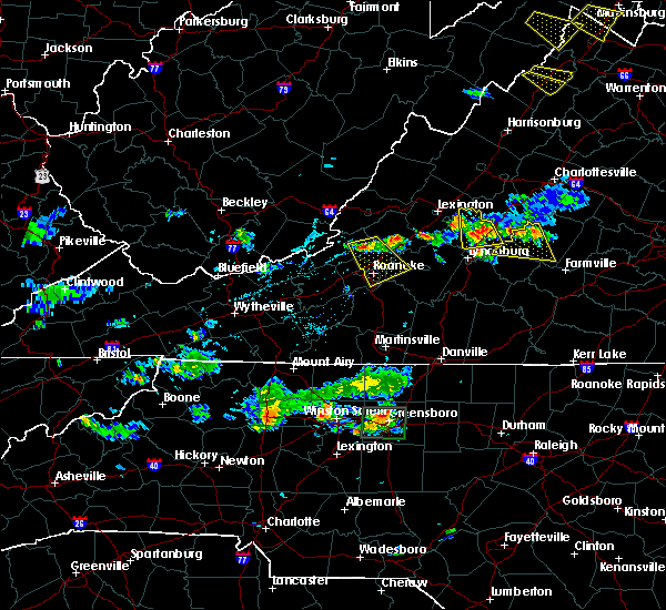 Radar Image for Severe Thunderstorms near Arrington, VA at 6/9/2018 5:47 PM EDT