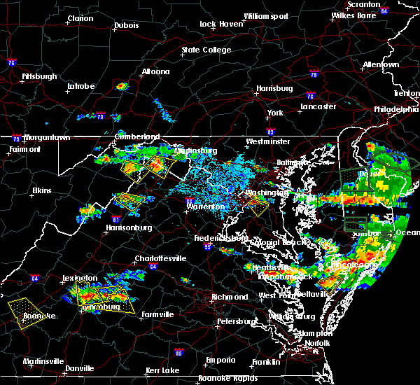 Radar Image for Severe Thunderstorms near District Heights, MD at 6/9/2018 5:50 PM EDT