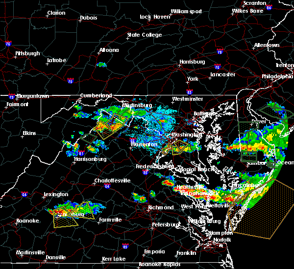 Radar Image for Severe Thunderstorms near Fort Washington, MD at 6/9/2018 6:31 PM EDT