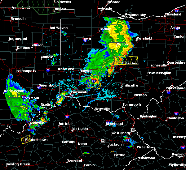 Radar Image for Severe Thunderstorms near Clarksville, OH at 6/9/2018 6:56 PM EDT