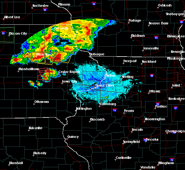 Radar Image for Severe Thunderstorms near Rowley, IA at 6/9/2018 9:13 PM CDT