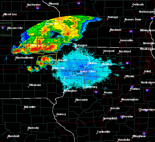 Radar Image for Severe Thunderstorms near Rowley, IA at 6/9/2018 9:34 PM CDT