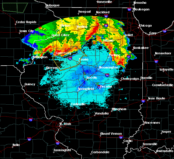 Radar Image for Severe Thunderstorms near Dunfermline, IL at 6/10/2018 2:11 AM CDT