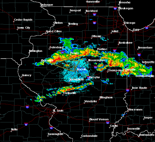 Radar Image for Severe Thunderstorms near Dunfermline, IL at 6/10/2018 12:51 PM CDT