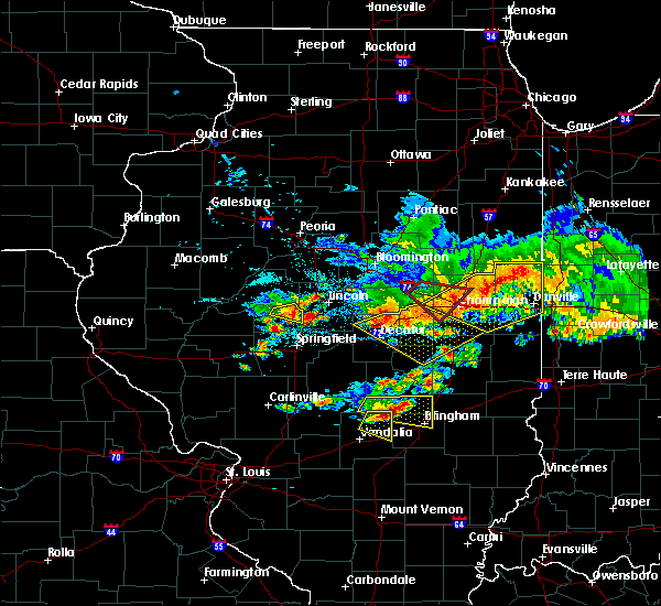 Radar Image for Severe Thunderstorms near St. Elmo, IL at 6/10/2018 2:28 PM CDT