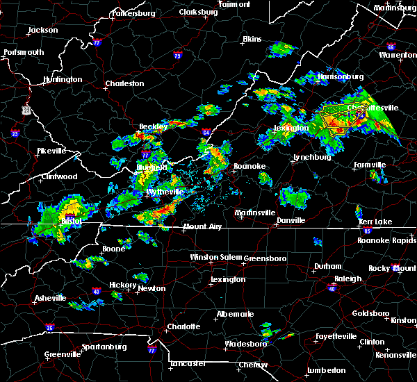 Radar Image for Severe Thunderstorms near Galax, VA at 6/10/2018 4:48 PM EDT