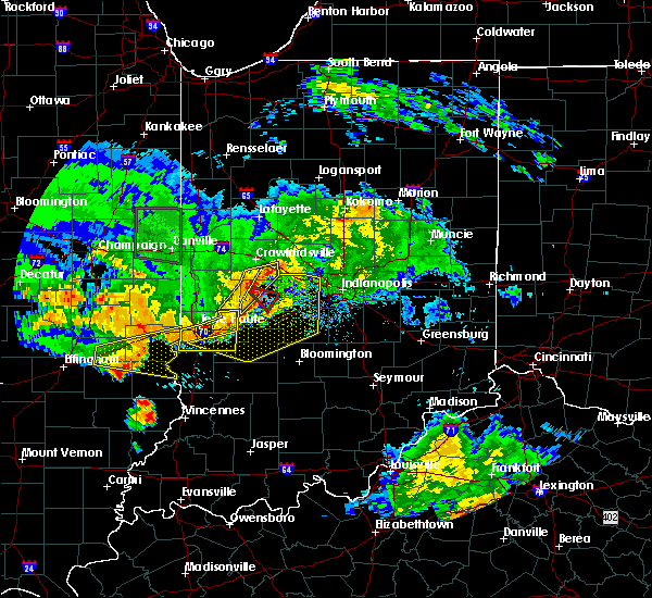 Radar Image for Severe Thunderstorms near Paragon, IN at 6/10/2018 4:50 PM EDT