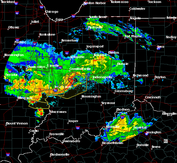 Radar Image for Severe Thunderstorms near Bainbridge, IN at 6/10/2018 4:53 PM EDT